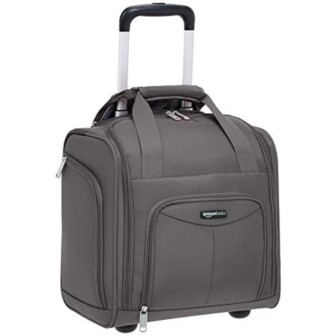 AmazonBasics Underseat Luggage, Grey