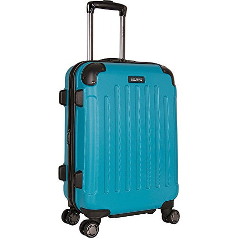 "Kenneth Cole Reaction Renegade 20"" Abs Expandable 8-Wheel Carry-On, Teal"