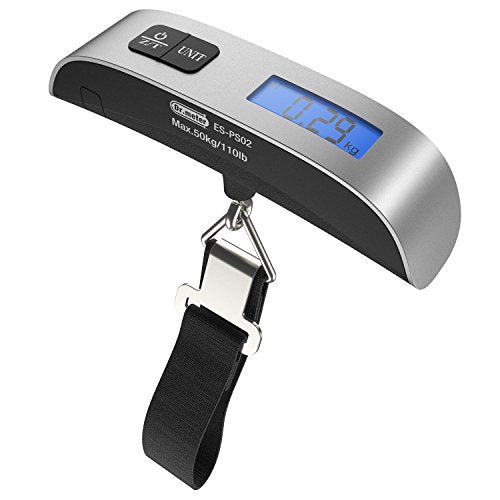 [Backlight Lcd Display Luggage Scale]Dr.Meter 110Lb/50Kg Electronic Balance Digital Postal
