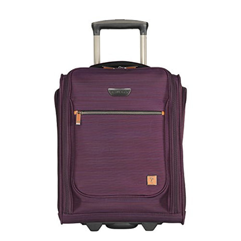 Ricardo Beverly Hills San Marcos 16-Inch Under Seat Rolling Tote, Violet Purple