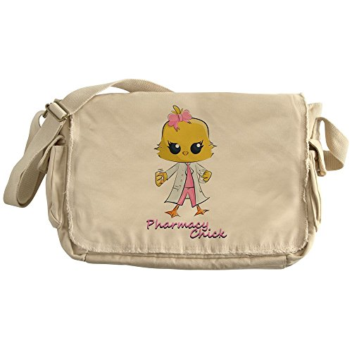 CafePress - Pharmacy Chick - Unique Messenger Bag, Canvas Courier Bag