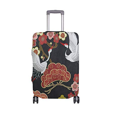"Suitcase Cover Suitcase Flying Bird Cherry Blossom Luggage Cover Travel Case Bag Protector for Kid Girls Luggage Cover Travel Case Bag Protector for Kid Girls 29""-32""(ONLY COVER)"