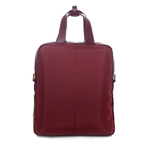 "Jill-E Designs Adrienne 13"" Laptop Tote, 12 X 4.25 X 15 Inches, Berry (473356)"