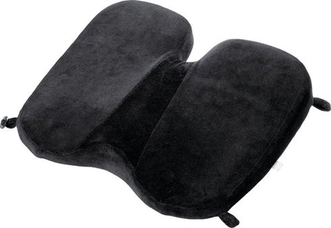 Design Go Memory Foam Soft Seat, Black, One Size