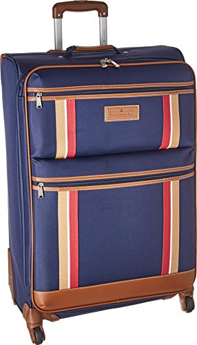 "Tommy Hilfiger Unisex Scout 4.0 28"" Upright Suitcase Navy One Size"