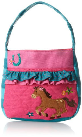 Stephen Joseph Quilted Purse, Girl Horse