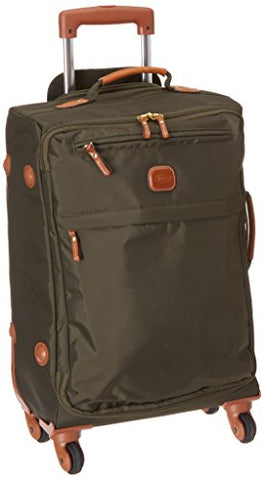Bric's 21 Inch Carry On Spinner, Olive, One Size