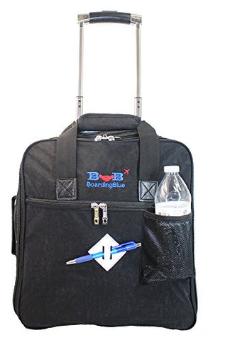 New BoardingBlue Allegiant Air Rolling Free Personal item Under Seat (Black)