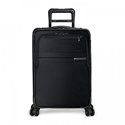 "Briggs & Riley Baseline Domestic Expandable Carry-On 22"" Spinner, Black"