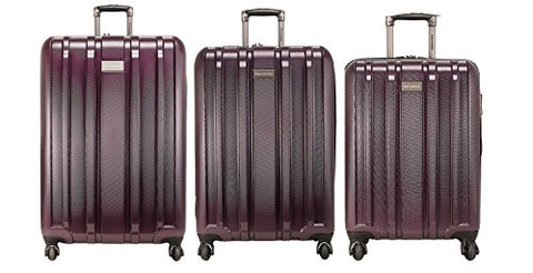 Ricardo Beverly Hills Yosemite 3 Piece Spinner Luggage Set | 21, 25 And 29, Plum
