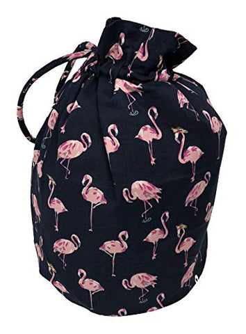 Vera Bradley Ditty Bag in Flamingo Fiesta