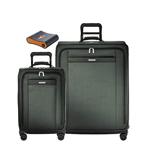 Briggs & Riley Transcend 3-Pc Set- Tall C/O Exp Spinner,Large Exp Spinner,Portmantos Tracking