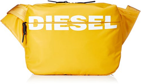 Diesel Men's BOLDMESSAGE F-Bold Cross bodybag, golden rod, One Size