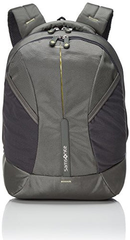 Samsonite 4Mation Laptop Backpack Casual Daypack, 43 cm, 27 Liters, Medium, Olive/Yellow/Green