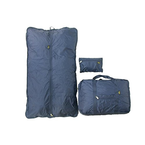 Samboro Luggage Canada Corporation Samboro Luggage Navy 3-Piece Carry On Travel Bag Set