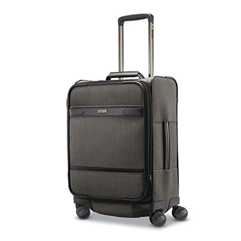 Hartmann Herringbone Deluxe Domestic Carry On Expandable Spinner, Black