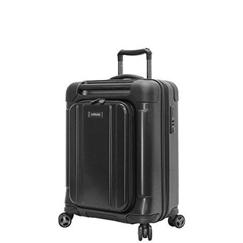 "Andiamo Pantera 20"" Hardside Carry-On Luggage With Spinner Wheels (20in, Carbon Black)"