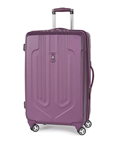 "Atlantic Luggage Ultra Lite 25"" Exp Hardside Spinner, Purple"