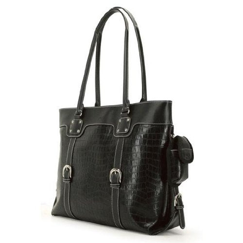"Mobile Edge Signature Tote - 16"" - Black (METSC1)"