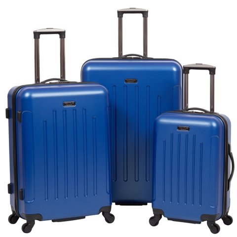 Heritage Travelware 882627CB 2044; 2544; 29 in. Lincoln Park Cobalt ABS Lightweight 4-Wheel Upright