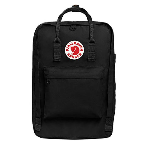 "Fjallraven - Kanken Laptop 17"" Backpack for Everyday, Black"