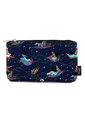 Loungefly Aladdin Magic Carpet Ride Print Coin/Cosmetic Bag Standard