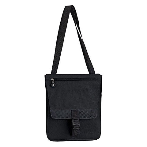 Goodhope Bags E-Reader Ipad Messenger- Black