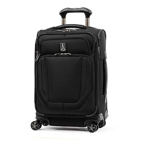 Travelpro Crew Versapack Global Carry-on Exp Spinner, Jet Black