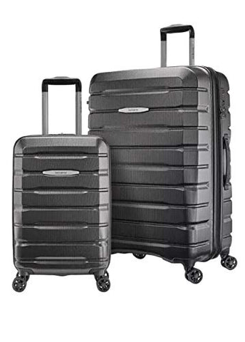 "Samsonite TECH TWO 2.0 2-Piece Hardside Set Luggage Gray 27"" & 21"""