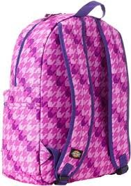 Dickies Student Backpack Two Tone Dogcheck Purple