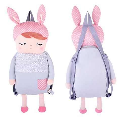 Me Too Plush Bunny Kid'S Backpack School Cartoon Shoulder Bags Easter Gifts 16''