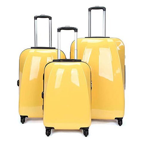 Luggage Set Travel Rolling Suitcase, Hardshell Luggage 3 Piece Set 20in 24in 28in Spinner Suitcase Lightweight Nested Sets Carry-on Uprights Suitcase 360° Silent Spinner Multidirectional Wheels For Me