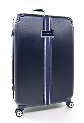 "Tommy Hilfiger Classic 28"" Expandable Hardside Spinner, Navy"