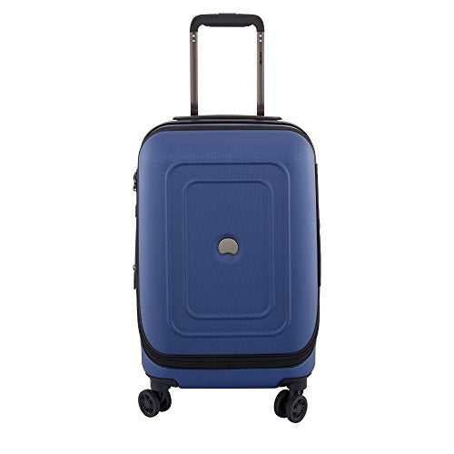 "Delsey Luggage Cruise Lite Hardside 19"" Intl. Carry on Exp. Spinner Trolley, Blue"