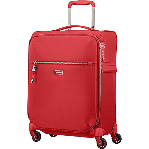 "Samsonite Karissa Biz 20"" Carry-On Spinner (Formula Red)"