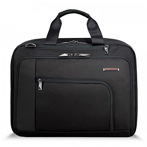 Briggs & Riley Adapt Expandable Brief, Black, One Size