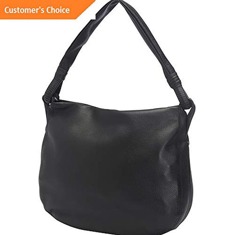 Sandover Derek Alexander Inset Top Zip Hobo 4 Colors | Model LGGG - 5767 |