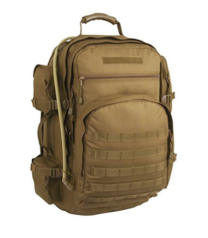 Code Alpha Campaign Recon Backpack With 3L Hydrapak Hydration System, Coyote