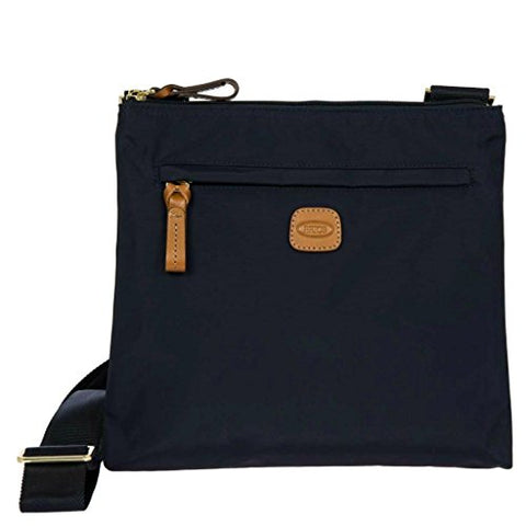 Bric's Women's X x 2.0 Large Sportina Shopper Tote Travel Shoulder Bag, Navy, One Size