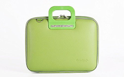 Bombata Firenze Briefcase 15.6-Inch (Green)