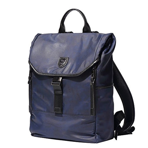 Bison Denim Multipurpose Classic Laptop Backpack Travel Hiking Daypack Water-Repellent School Bag