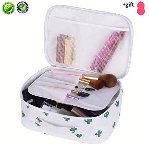Travel Case Makeup Brush Organizer Kit Cosmetic Bag For Women