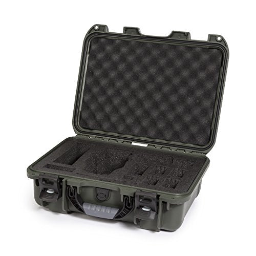 Nanuk DJI Drone Waterproof Hard Case with Custom Foam Insert for DJI Mavic - 920-MAV6 Olive