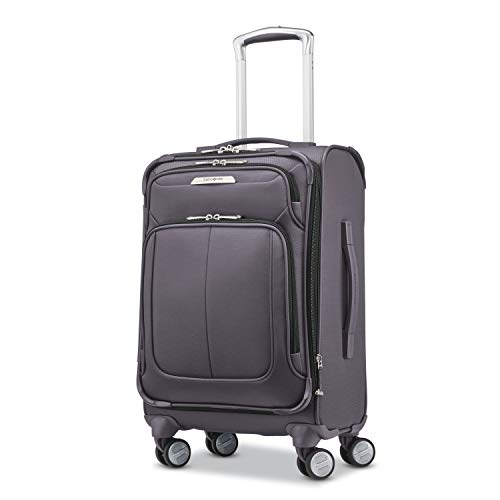 Samsonite SoLyte DLX Carry-On Expandable Spinner (Mineral Grey)
