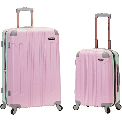 Rockland 20 Inch 28 Inch 2 Piece Expandable Abs Spinner Set, MINT