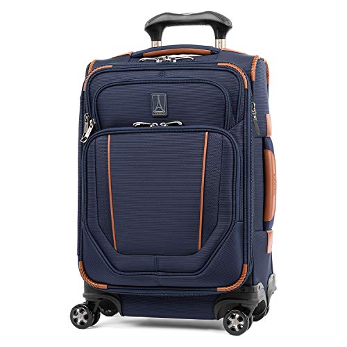 Travelpro Crew Versapack Global Carry-on Exp Spinner, Patriot Blue