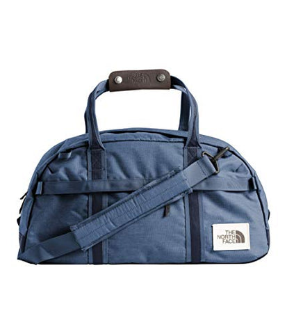 The North Face Unisex Berkeley Duffel ¿ Small Shady Blue Light Heather/Urban Navy Light Heather One Size