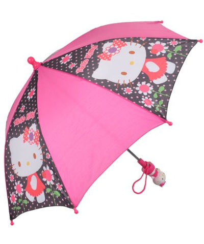 "Hello Kitty ""Dotty Rain"" Umbrella - Pink, One Size"