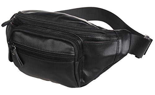 277ca2d45a68 Polare Genuine Leather Fanny Pack/Waist Bag/Organizer (Classic Style)