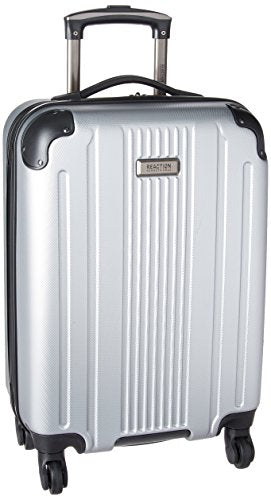 "Kenneth Cole Reaction Gramercy 20"" Embossed Pap (Abs and Pc Blend) 4-Wheel Upright, Light Silver"